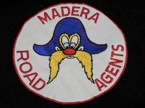 Vintage Madera California YOSEMITE SAM Road Agents Large Patch