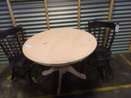 Vintage/shabby chic dining set - PRICE REDUCED $180 Bulimba Brisbane South East Preview