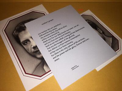 MOTHER Movie PROMO 3 Card Lot JAVIER BARDEM As God Darren Aronofsky  - $39.99
