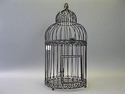Großer Nostalgie Metall Vogelkäfig  Käfig Deko  0cm
