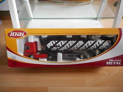 Joal Mercedes Actros 1840 Bulk Powder Trailer in Red on 1:50 in Box Ref 364