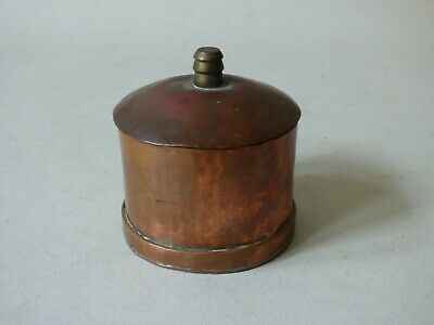 COLLECTABLE ANTIQUE COPPER BREWERIANA TRINKET APPRENTICE PIECE POT FREE UK P+P