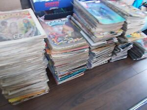MASSIVE JOB LOT OF OVER 1,000 2000AD COMICS PROGS - YOU SELECT YOUR OWN 10