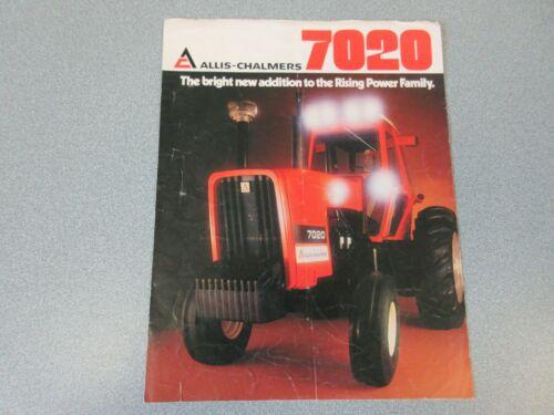 Allis Chalmers 7020 Farm Tractor Brochure                                     lw