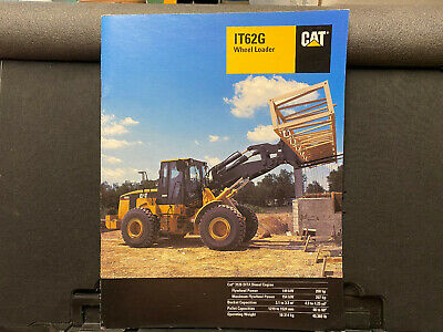 Caterpillar It62g Wheel Loader Brochurecatalog 1998
