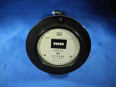 Vintage Jbi Model 31-fx Frequency Meter With Plug - Works