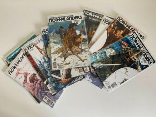 Northlanders Comics Bundle x17 - DC Vertigo - Good Cond. - Bagged & Boarded
