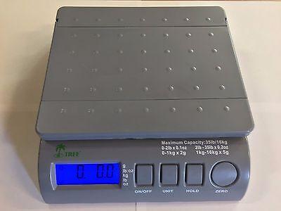 35 lbs Digital Postal Scale LW Measurements Weighing USPS FedEx UPS