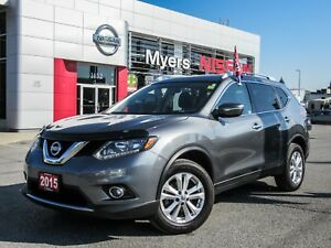 2015 Nissan Rogue SV, AWD, PANORAMIC ROOF, BACK UP CAMERA