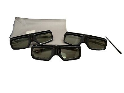 3 Original Sony Active 3D Glasses TDG-BT400A Free Shipping