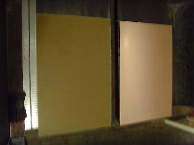 3 Pcs Copper Clad Laminate Fr-4 .060 6 X 8 1 Oz. Single Sided Pcb Board