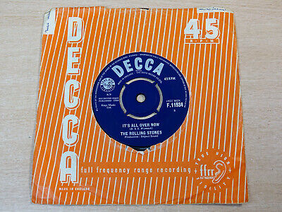 The Rolling Stones/It's All Over Now/1964 Decca 7