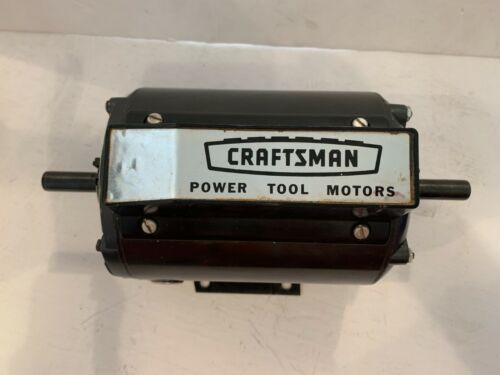Sears Craftsman Power Tool Motors ½ HP Capacitor Start Electric Motor