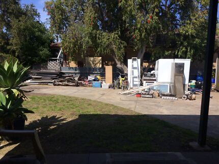 Wanted: Free scrap metal removal