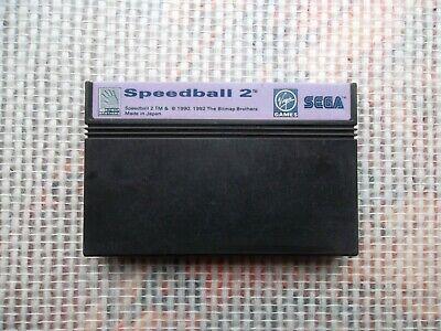 Jeu Master system / Ms Game Speedball 2 authentic* original SEGA