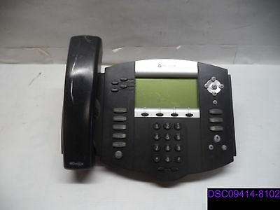 Qty9 Polycom Soundpoint Digital Telephone No Standscords Ip550 2201-12550-001