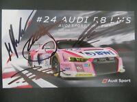 Audi r8 LMS 24h nurburgring 2018 BWT mosquito Motorsport 1:43 Spark sg 410 nuevo