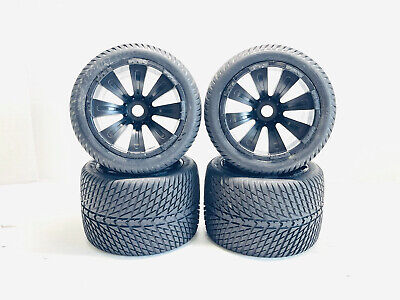 Proline Road Rage #1104 40 Series 1/8 Monster Truck Tires 17mm Hex Wheels