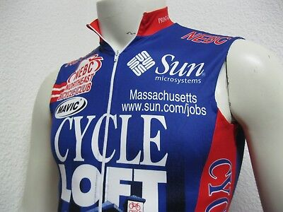 3fe3b75d8 Ancien MAILLOT NEBC NORTHEAST BICYCLE CLUB MASSACHUSETTS USA Cycling Team  Jersey