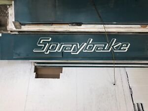 Spraybake paint booth for sale