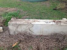 Water trough for horses ex laundry tubs. Tallegalla Ipswich City Preview