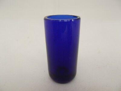 Cobalt Blue Glass Liner (GL59) - Replacement Silver Pepper Pot - Bristol