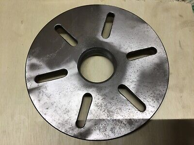 Nice 8-14 South Bend Lfp-100l Slotted Face Plate 2-14-8 Threaded Mount