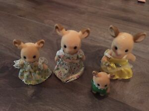 Calico critters, tree houses and assorted baby items