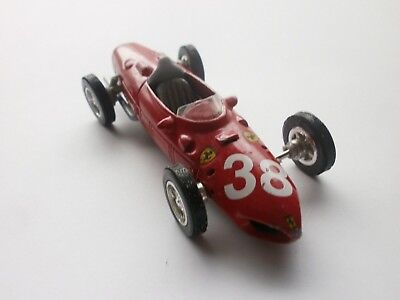 Vintage  Metal Car  FERRARY 1961- 156  F1 - Scale - 1:35 for sale  Shipping to United States