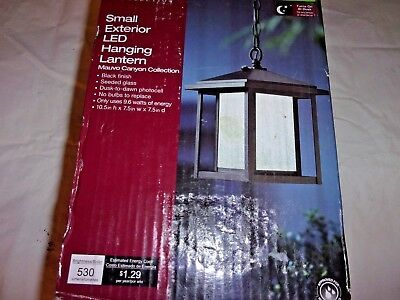 Collection Small Hanging Lantern - HOme Decorators Collection Small Exterior LED Hanging Lantern 1002 067 334