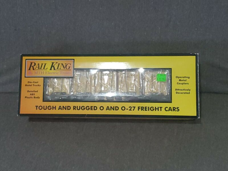 NIB Rail King #30-76606 Pittsburgh & Lake Erie Flat Car With LCL Containers F/S