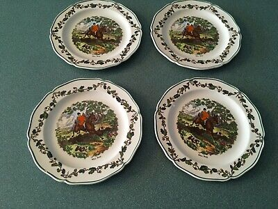 1950s Willow Dinner Plate by Barratts Staffordshire England c