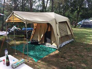 Black Wolf Turbo 240 canvas tent