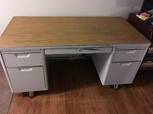 1930's era steel desk