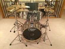 Pearl Export EX CHROME with Zildjian ZXT Cymbals North Richmond Hawkesbury Area Preview