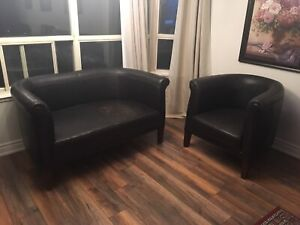 Antiqe Love Seat & Matching chair