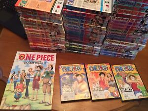 One Piece - 53 Manga Volumes, DVDs & Artbook for sale