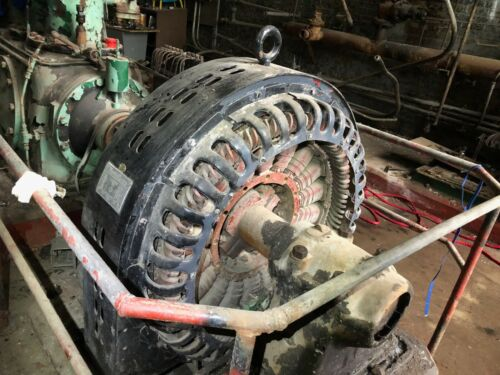 200 Hp Antique Westinghouse Electric Synchronous Motor Nikola Tesla Cir.1916