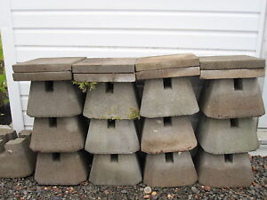 Concrete Deck Blocks