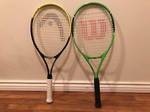 Never used Tennis Racquets