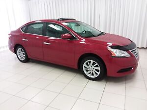 2013 Nissan Sentra SV WITH A/C , CRUISE, HEATED SEATS, PUSH BUTT