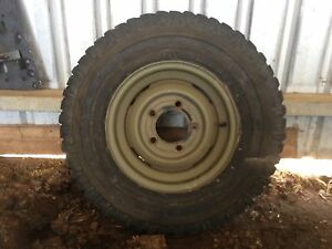 Land Rover Ex Army Rims & Tyres Kentish Area Preview