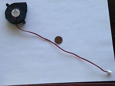 12v 50mm Blower Fan 5015 50mm X 15mm Turbo Cooling 3d Printer Rep Rap 2-pin
