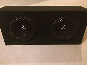 Subs and amps for sale