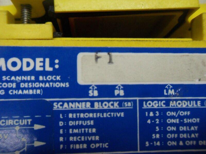 Banner Engineering F1 Scanner Block