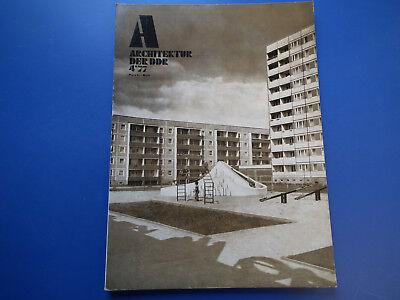 DDR Zeitschrift-Architektur der DDR Heft -4/1977-UDSSR-CSSR-Jugoslawien-ECE-SSR