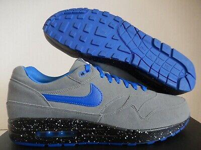 NIKE AIR MAX 1 ID GREY-BLUE-BLACK SZ 13 [943756-992]