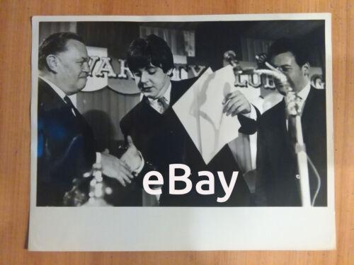 Paul McCartney The Beatles Vintage Original Photo