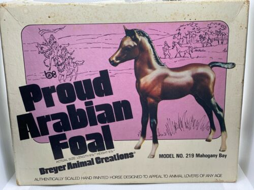 Breyer Animal Creation - Proud Arabian FoalMahogany Bay Model No. 219