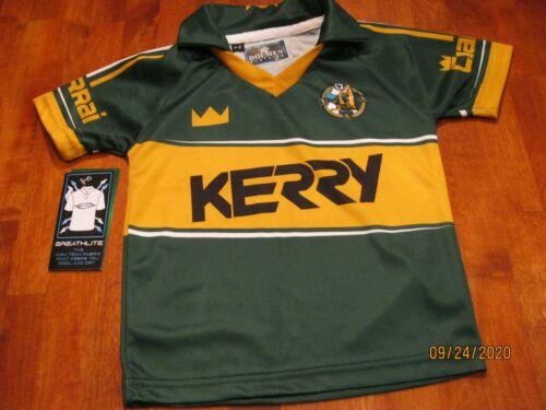 NWT KIDS SZ 1-2  IRELAND Kerry CIARRAI  Football Jersey Shirt - Vintage Style